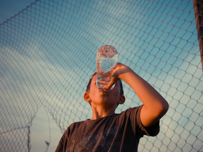 Water quality affects our health.