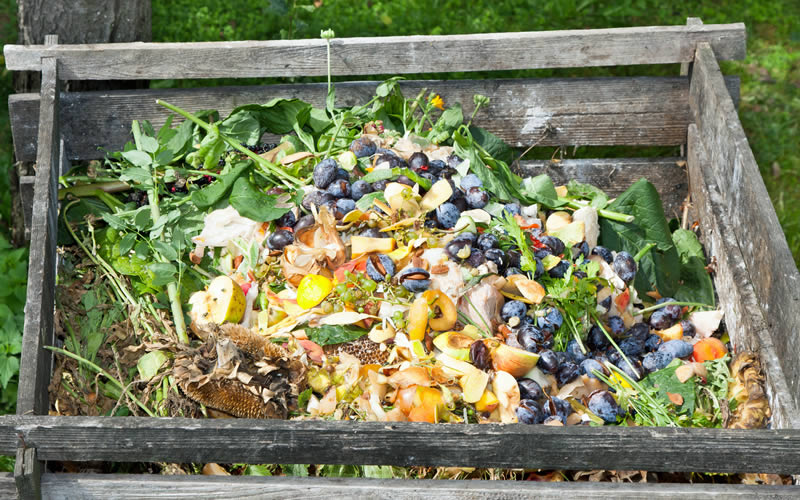 how to make use of compost bin