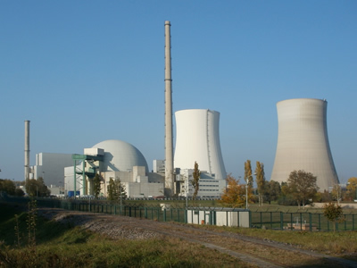 Nuclear power plant in Philippsburg