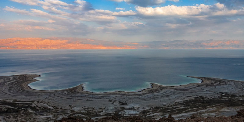 Dead Sea shrinking
