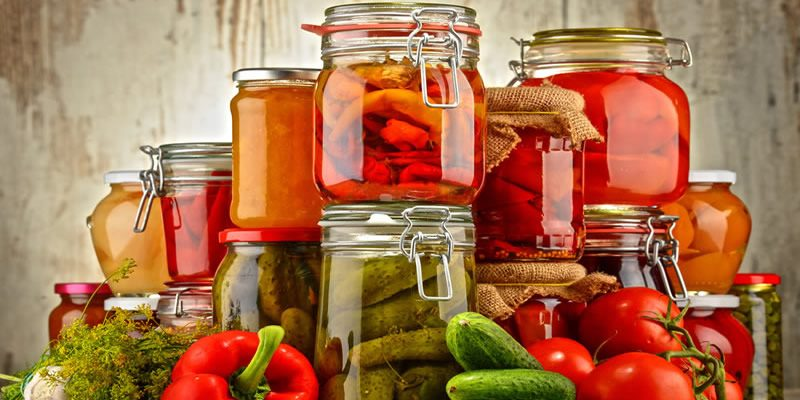 Natural food preservation methods