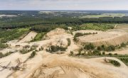 Land degradation by mining industry