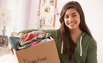 The Used Clothing Drive Program