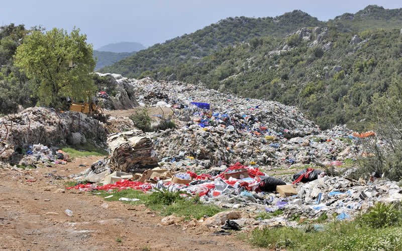 how landfills contribute to global warming