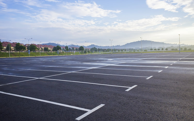 Environmental problems with parking lots