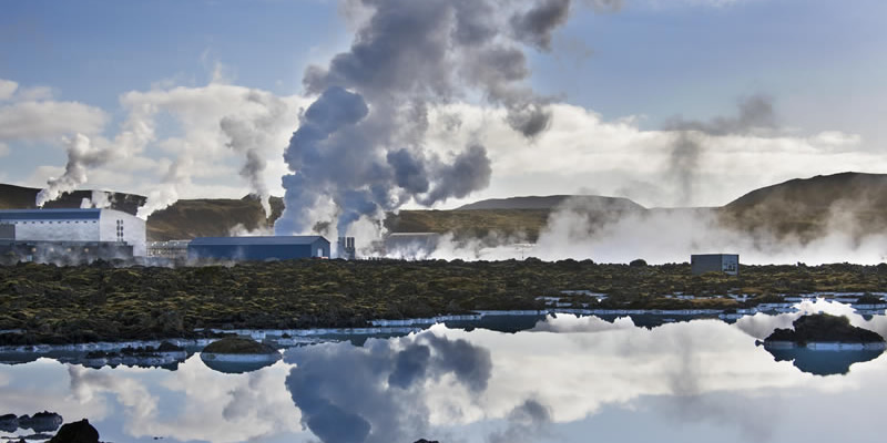 how does geothermal power produce electricity