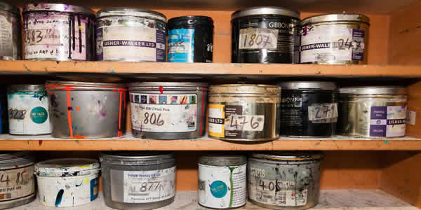 Old paints disposal