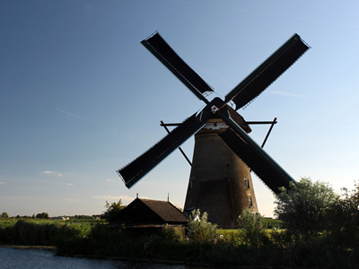 The traditional windmill