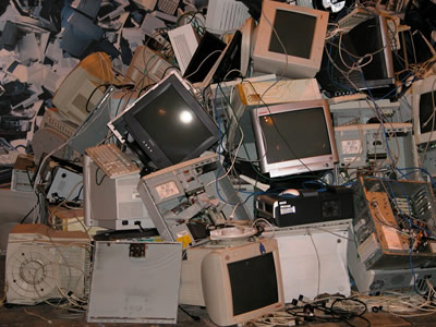 Old electronics still have a potential for reuse.