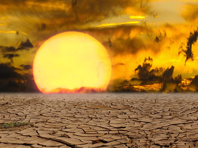 Warmer climate brings extreme heat waves and drought