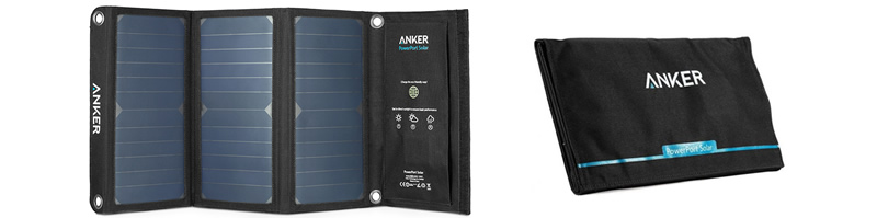 Anker PowerPort 21W Solar Powered Phone Battery Charger