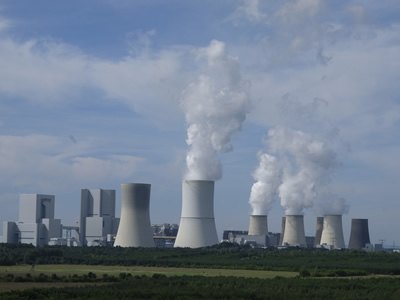 A nuclear power plant with four working reactors