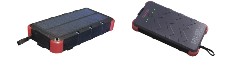 Outxe solar power bank