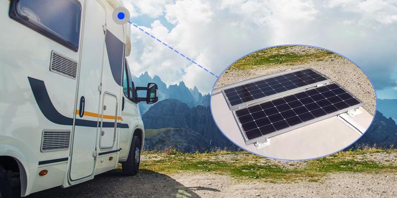 Renogy 200W Solar Panels - RV Camping