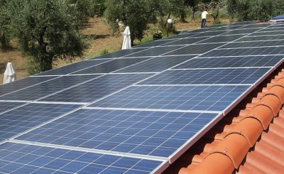 Effect of temperature on solar panel efficiency