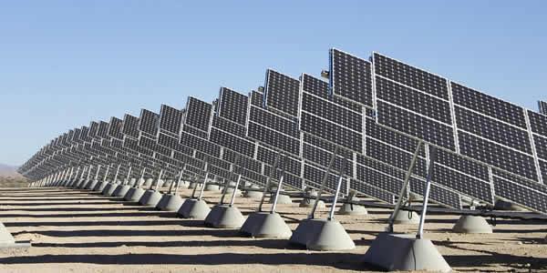 Solar photovoltaic farm