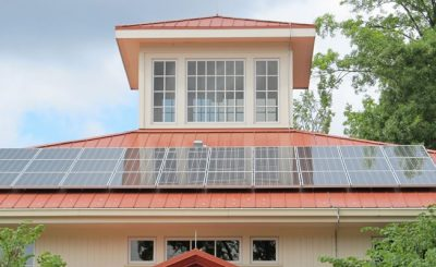 Replacing roof with solar panels