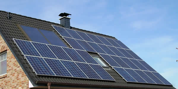 Solar panels protect roofs