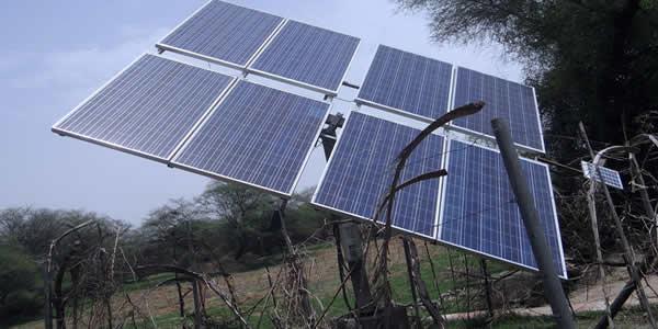 Solar pole mount system