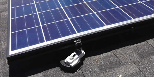 Rail-less solar mounting system