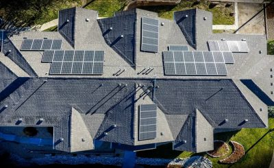 Buying or selling a house with solar panels