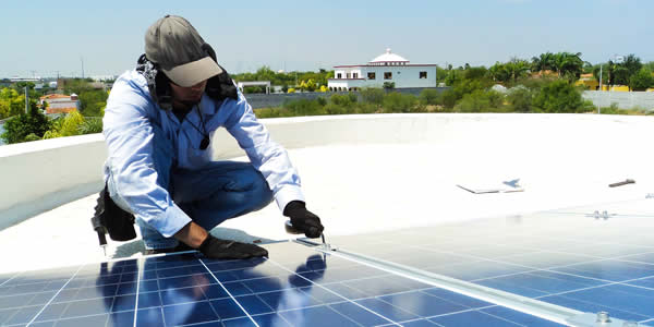 Maintenance of solar panels