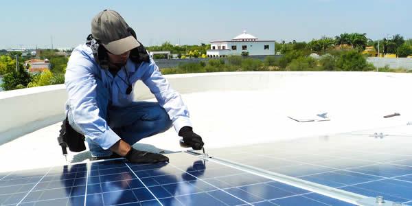 Maintenance of solar panels