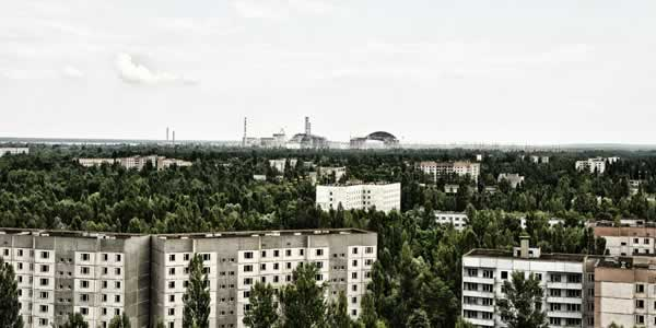 Pripyat and Chernobyl nuclear power plant