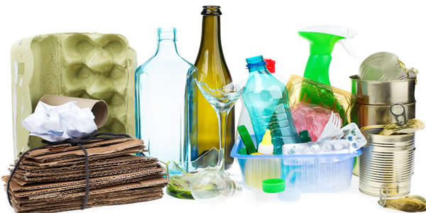 Sorting recyclings at home