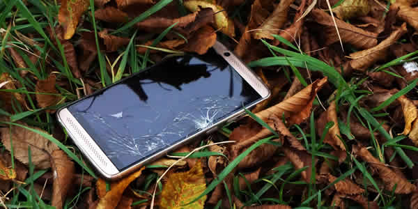 Broken cell phone for donation