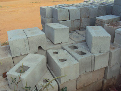 Use of cement blocks is being touted as a best alternative to burnt bricks.
