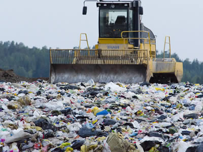 Municipal landfill