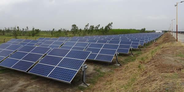 Community shared solar panels