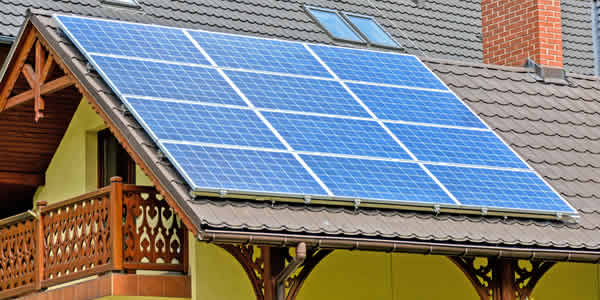 Solar panels protect your roof