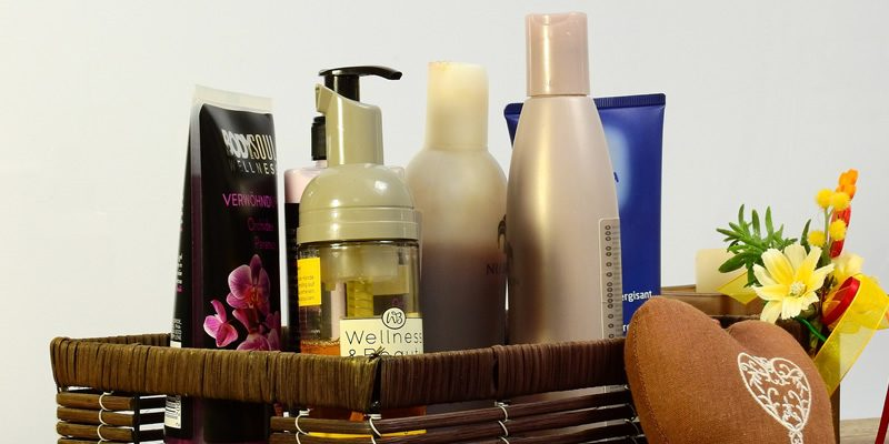 Environmentally-harmful chemicals in cosmetics