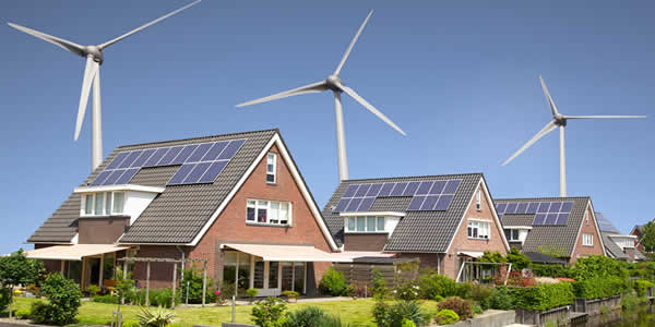 Renewable power for households